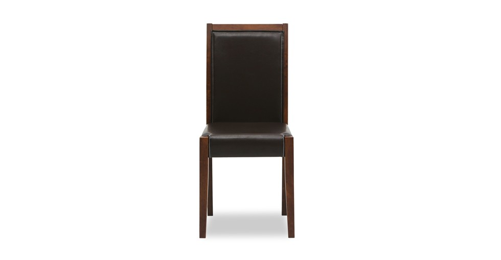 Lita Faux Leather Cocoa Dining Chair