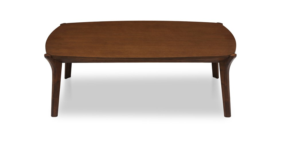Mier Cocoa Wood Coffee Table
