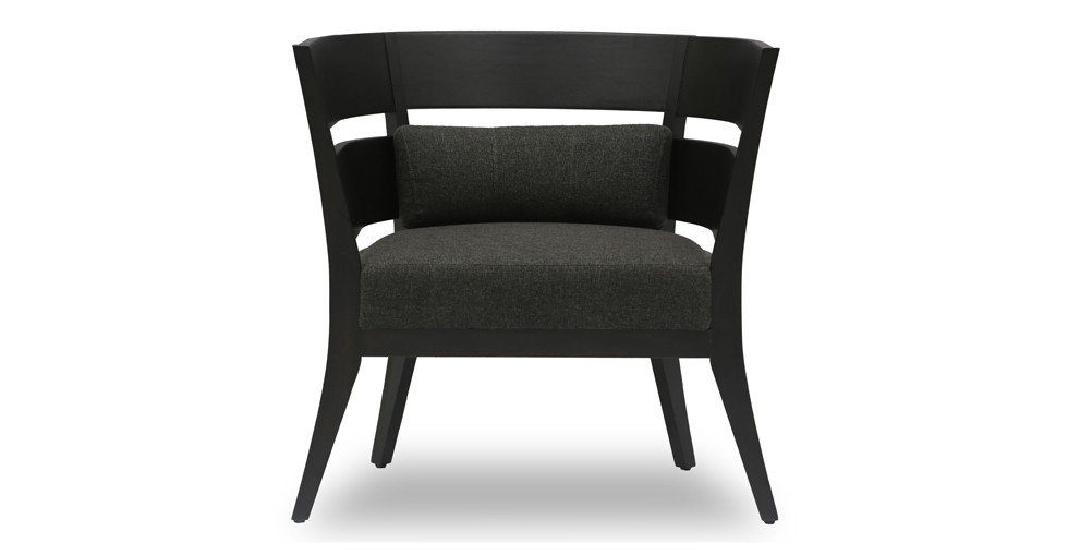 Mier Ebony Lounge Chair