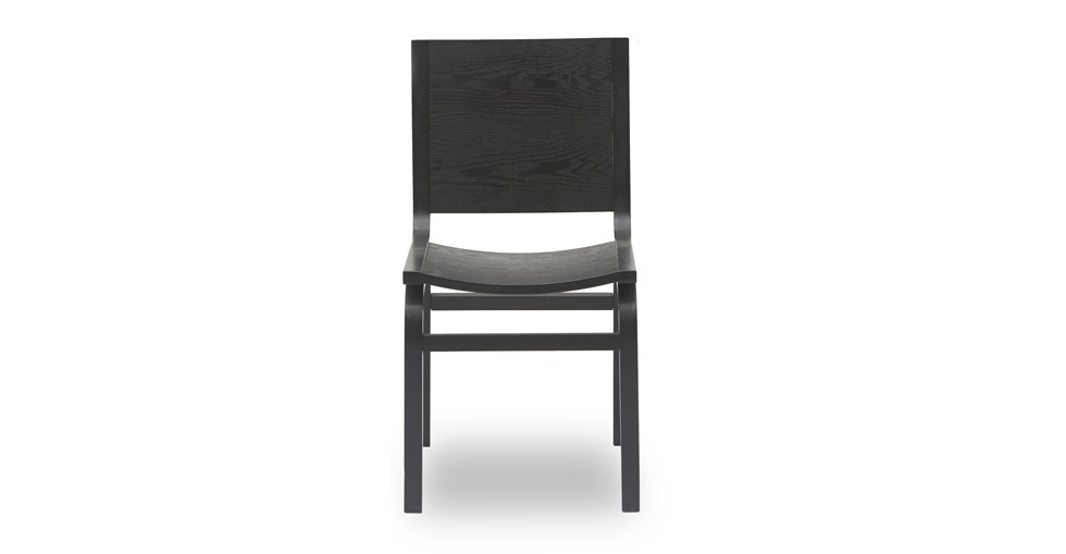 Nes Ebony Wood Dining Chair