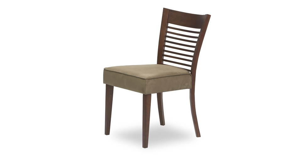 Casey Light Brown Fabric Upholstered Cocoa Dining Chair