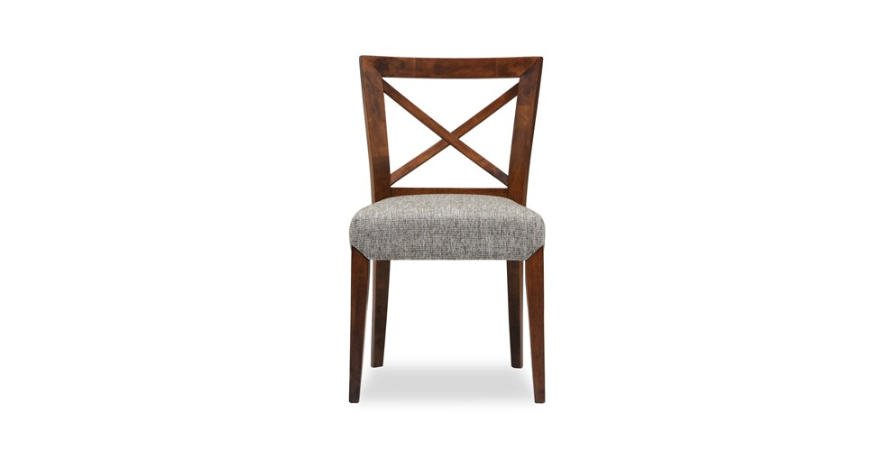 Celestine Fabric Upholstered Cross Back Dining Chair
