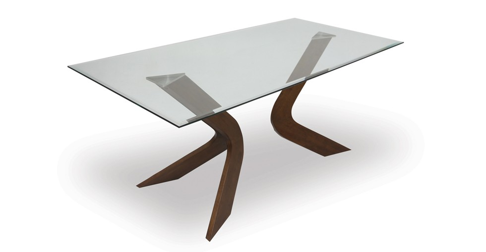 Scott Glass Dining Table