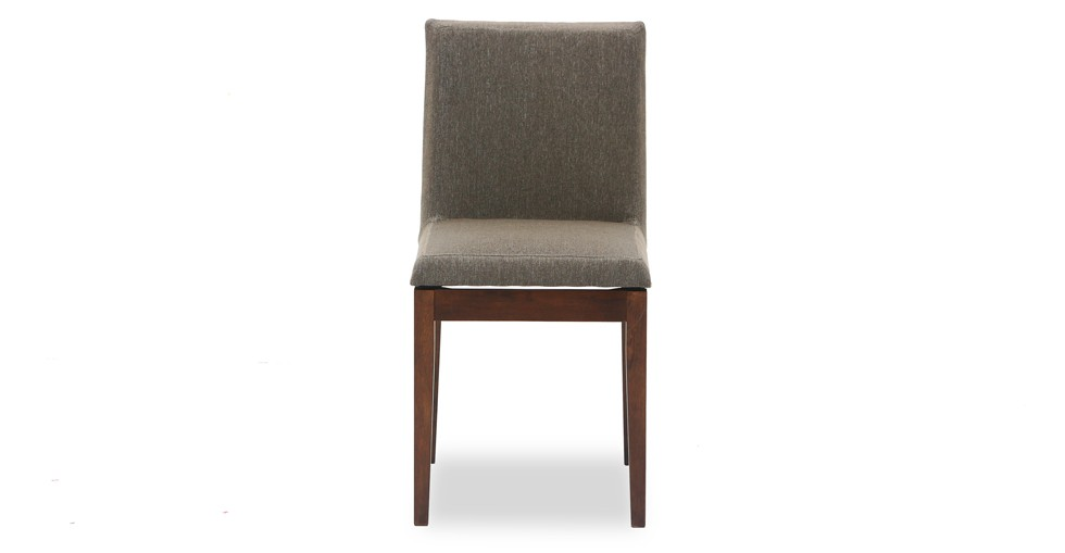 Square Fabric Upholstered Cocoa Dining Chair