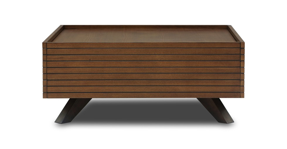Strip Cocoa Wood Coffee Table