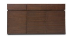 Strip Cocoa Wood Sideboard