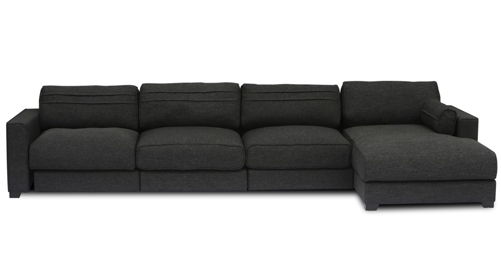 Vani Modular 3 Seat Right Sectional With Chaise