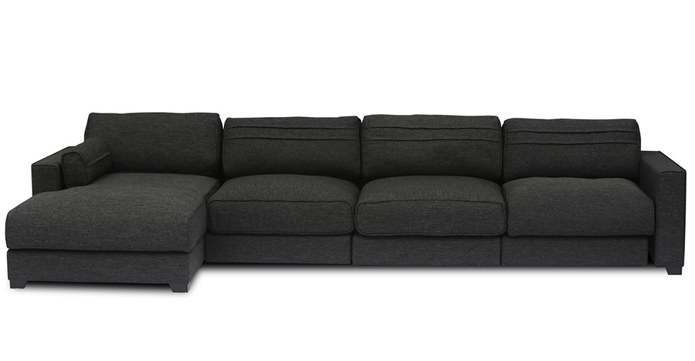 Vani Modular 3 Seat Left Sectional With Chaise