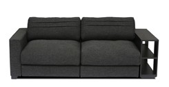 Vani Modular Loveseat with Chair Side Table