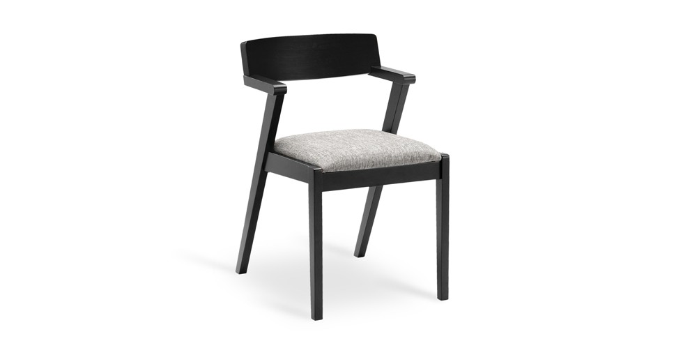 Zola Coral Ebony Dining Chair