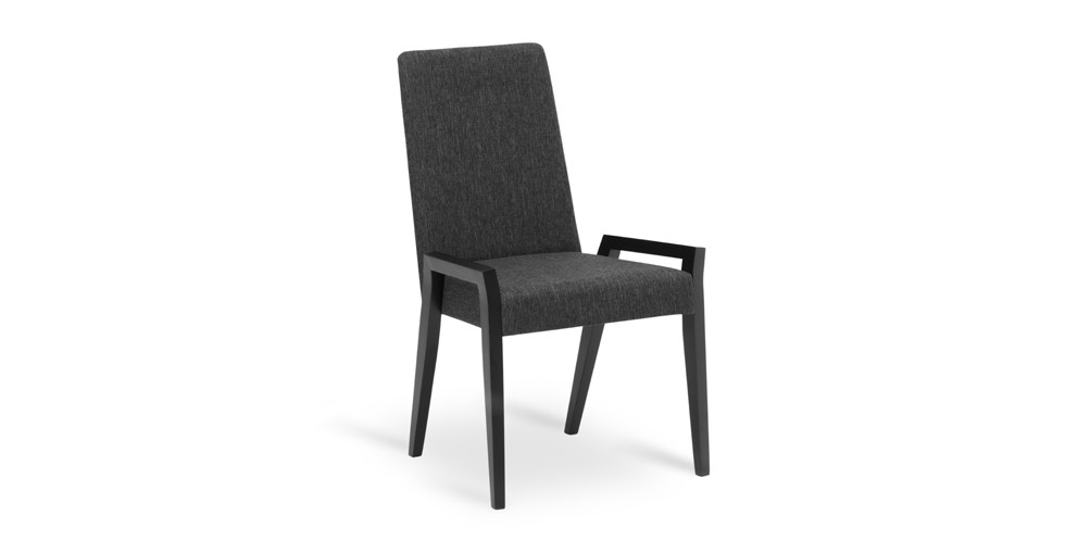Melvie Liquorice Ebony Dining Chair