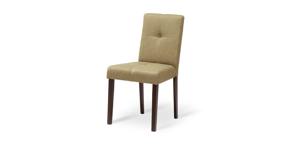 Elsa Latte Fabric Upholstered Light Cappuccino Dining Chair