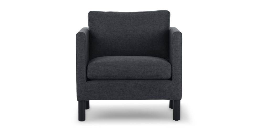 Nova Bard Gray Armchair