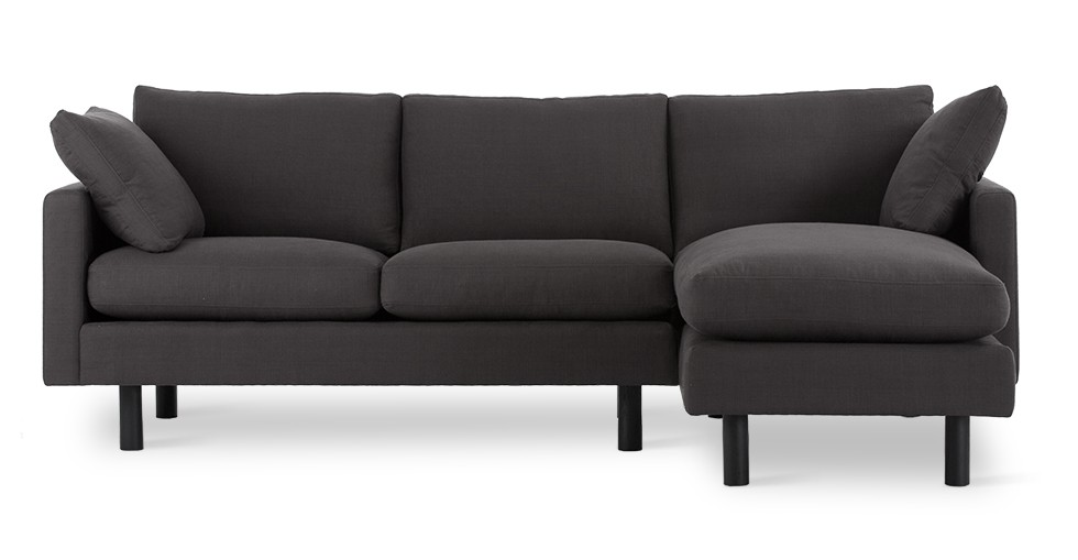Nova Orion Gray Right Sectional
