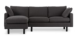Nova Orion Gray Left Sectional