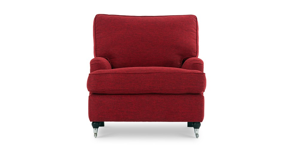 Edward Red Armchair
