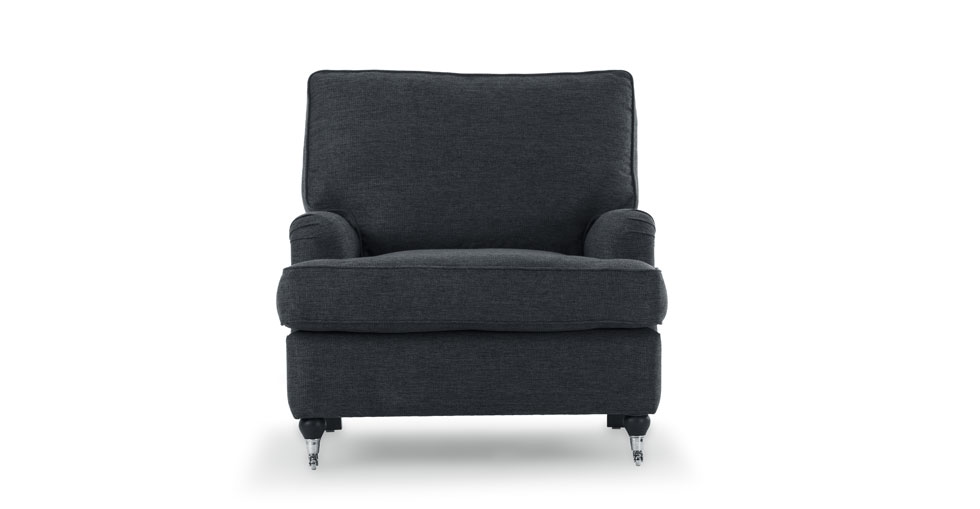 Edward Bard Gray Armchair