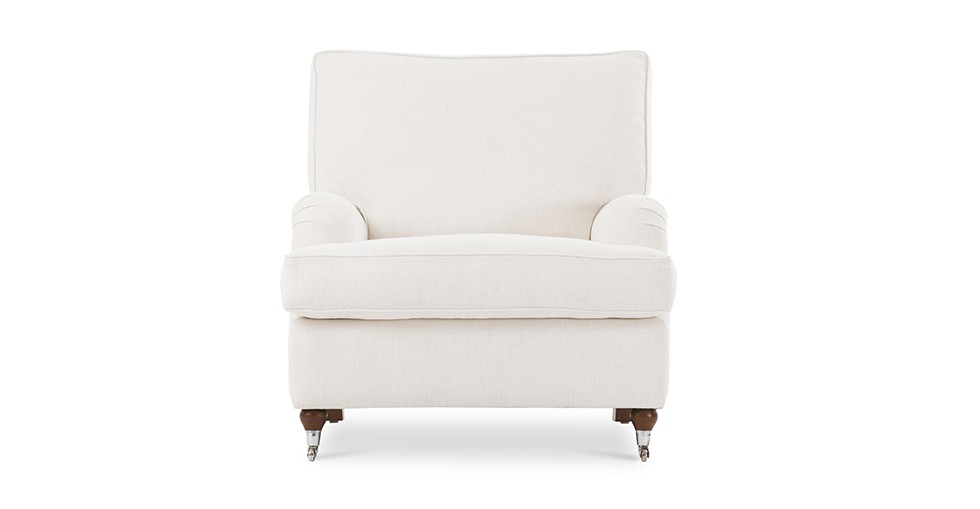 Edward White Armchair