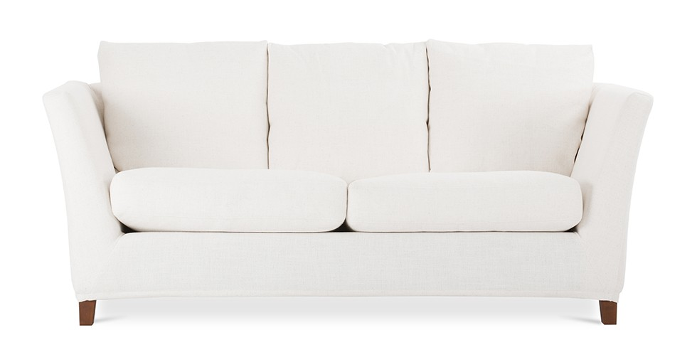 Long Island White Sofa