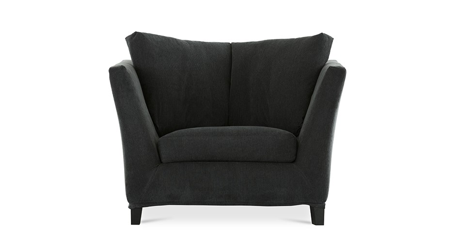 Long Island Midnight Blue Armchair