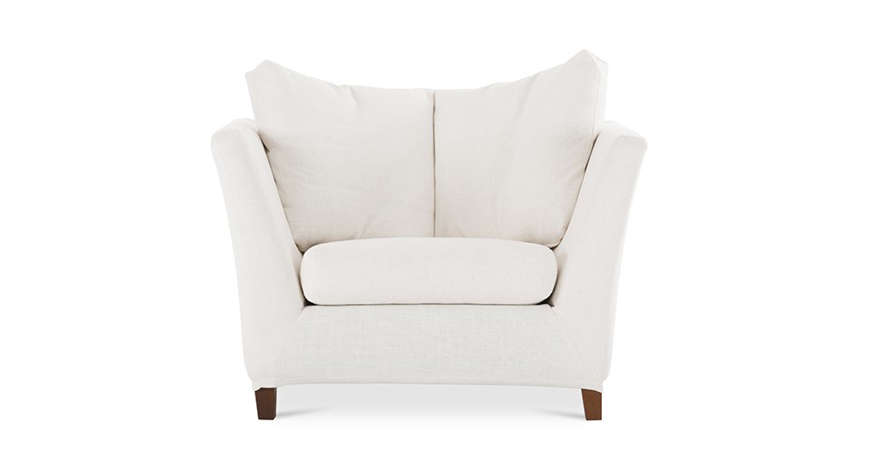 Long Island White Armchair