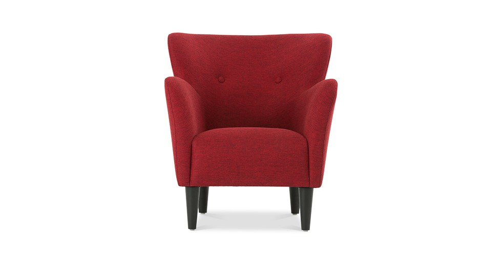 Happy Red Armchair