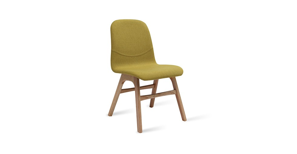 Ava Oasis Fabric Oak Dining Chair