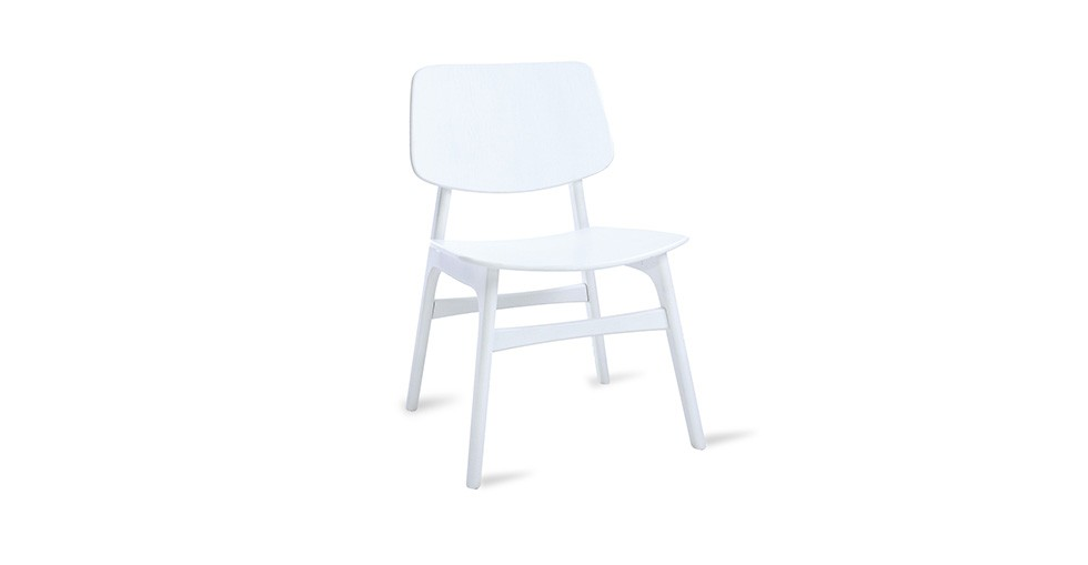Margo White Dining Chair