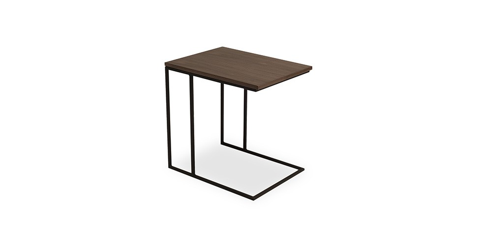 Myron Walnut End Table