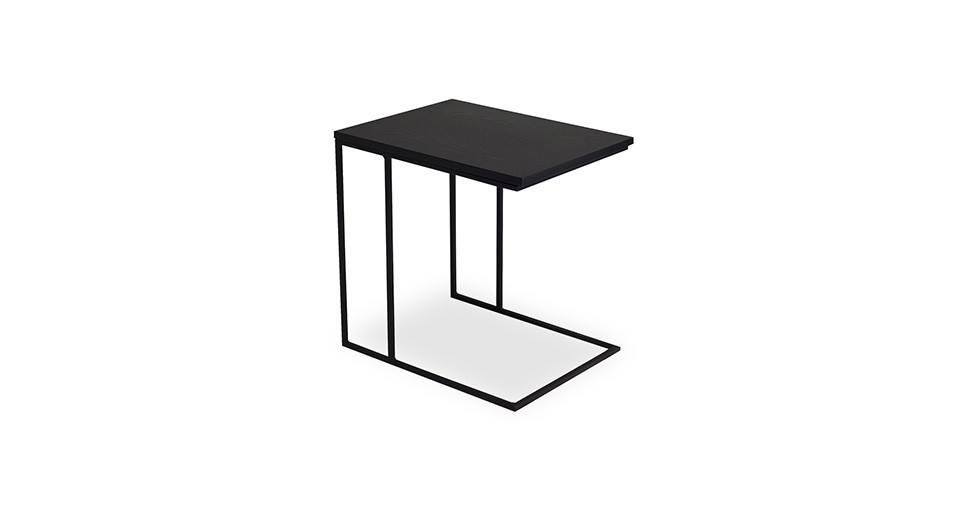 Myron Black End Table