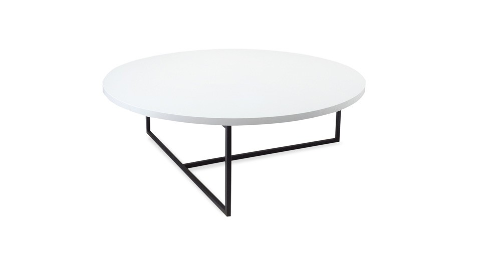 Turner White Round Coffee Table