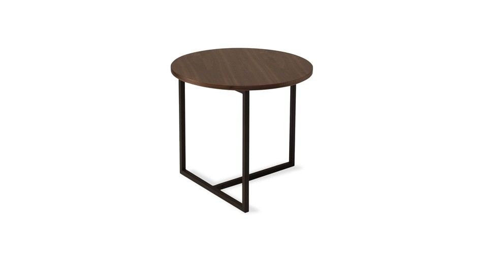 Turner Walnut Round End Table