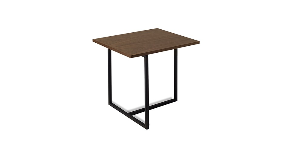 Turner Walnut Rectangular End Table