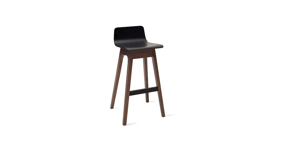 Ava Black Bar Stool