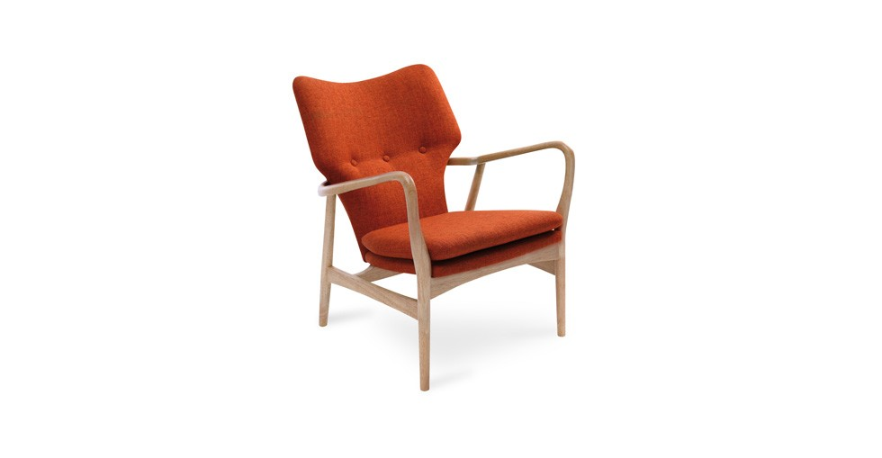 Uta Russet Lounge Chair