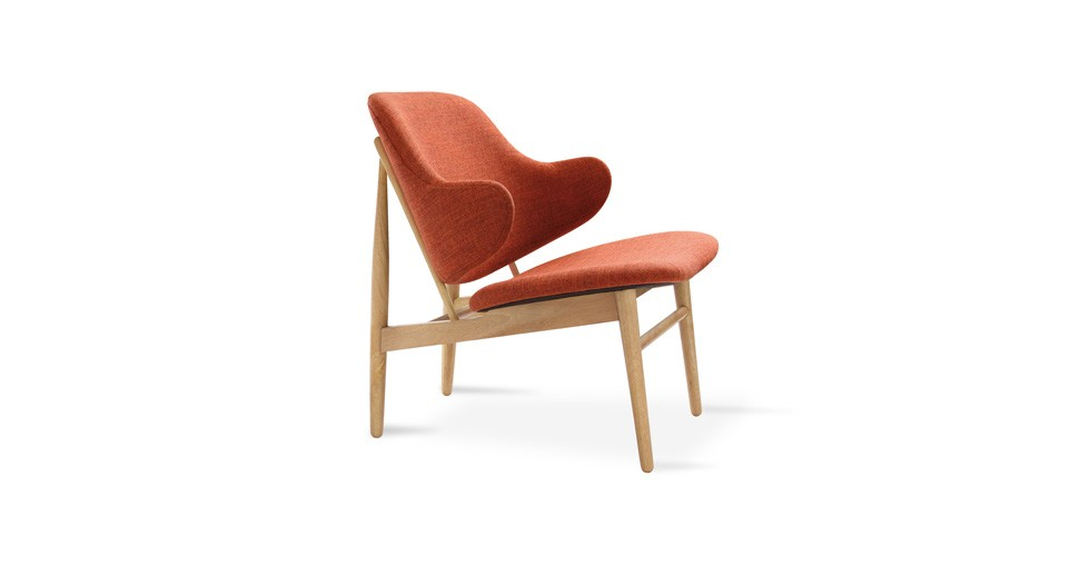 Veronic Russet Lounge Chair