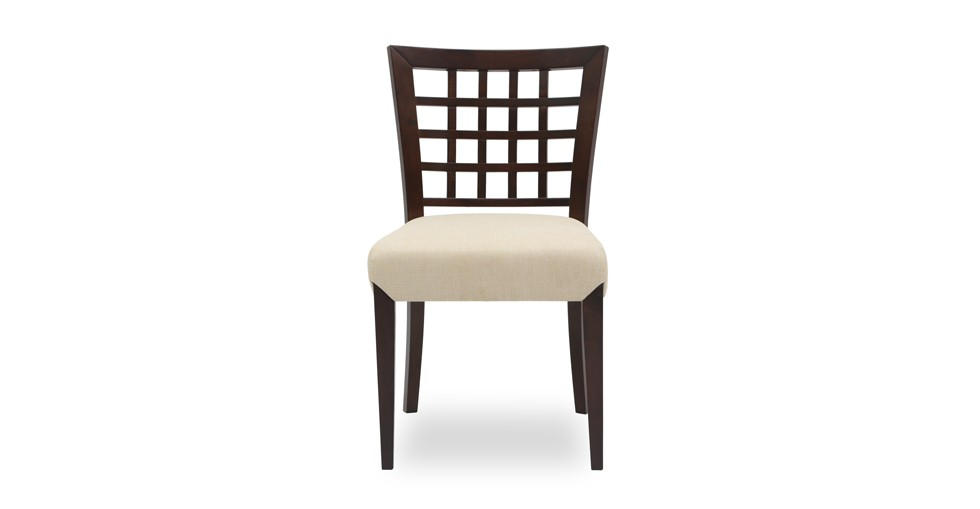 Amanda Khaki Light Cappuccino Dining Chair