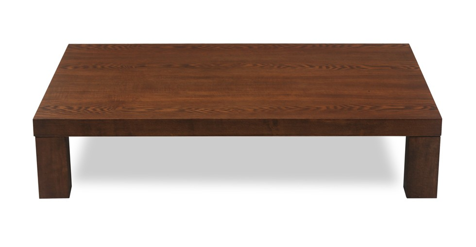 Gordon Cocoa Wood Coffee Table