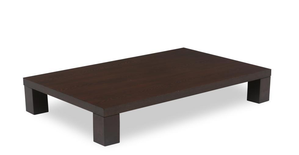 Gordon Light Cappuccino Wood Coffee Table