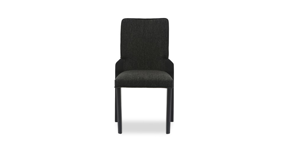 Hina Liquorice Fabric Upholstered Dining Chair
