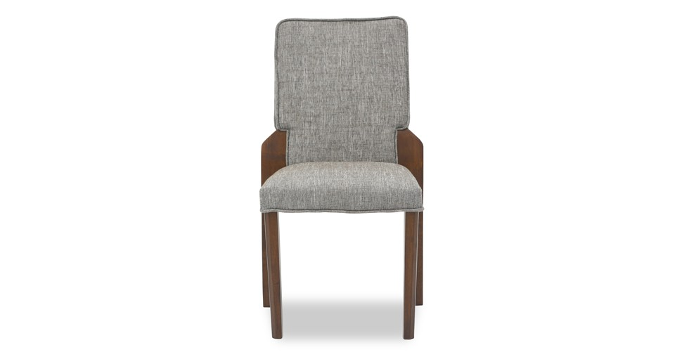 Hina Coral Fabric Upholstered Dining Chair